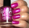 Girly Bits Cosmetics The Fuchsia is Ours (CoTM November 2016)   Swatch courtesy of My Nail Polish Obsession