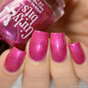 Swatch courtesy of Delishious Nails   GIRLY BITS COSMETICS The Fuchsia Is Ours (CoTM November 2016)