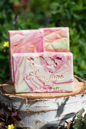 Candy Cane | Eliza Jane Soap Co. - available at Girly Bits Cosmetics www.girlybitscosmetics.com