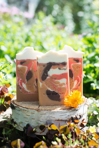 Pumpkin Chai | Eliza Jane Soap Co. - available at Girly Bits Cosmetics www.girlybitscosmetics.com