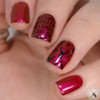 Swatch courtesy of Polished Pathology | GIRLY BITS COSMETICS Danger Zone from the Codename: Duchess Collection