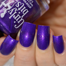 Swatch courtesy of Delishious Nails | GIRLY BITS COSMETICS Lanaaaaaa! from the Codename: Duchess Collection