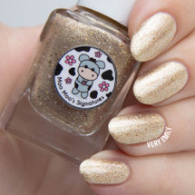 AVAILABLE AT GIRLY BITS COSMETICS www.girlybitscosmetics.com Sand Storm (The Secret Warrior Trio) by Moo Moo Signatures | Swatched courtesy of Very Emily