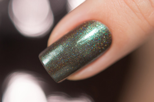 AVAILABLE AT GIRLY BITS COSMETICS www.girlybitscosmetics.com Don't Wake the Monster In the Woods (Moo Moo's Story Part I) by Moo Moo Signatures | Swatch courtesy of @nailsannagorelova