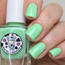 AVAILABLE AT GIRLY BITS COSMETICS www.girlybitscosmetics.com Seafoam Daisy (Rainbow Flowers Bath Collection) by Moo Moo Signatures | Swatch courtesy of @ladyandthe_stamp