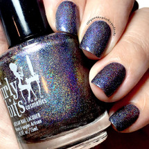 Girly Bits Cosmetics Fairies Wear Boots | Swatch by Pretty Pinky Polish