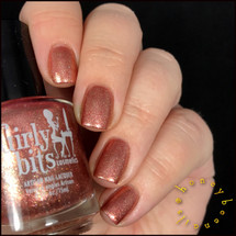 GIRLY BITS COSMETICS Xmas & O's (December 2016 CoTM Collection) | Swatch courtesy of @honeybee_nails