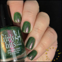 GIRLY BITS COSMETICS Grandma Got Run Over by a John Deere (December 2016 CoTM Collection) | Swatch courtesy of @honeybee_nails