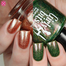 Girly Bits Cosmetics - Xmas & O's and Grandma Got Run Over by a John Deere | Swatch by Cosmetic Sanctuary