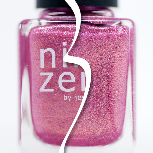 AVAILABLE AT GIRLY BITS COSMETICS www.girlybitscosmetics.com Pink Christmas (Holiday 2016 Collection) by Nine Zero Lacquer | Photo courtesy of @polishedbybeckie