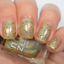 AVAILABLE AT GIRLY BITS COSMETICS www.girlybitscosmetics.com Golden Lights (Holiday 2016 Collection) by Nine Zero Lacquer | Photo courtesy of @jessface90x