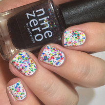 AVAILABLE AT GIRLY BITS COSMETICS www.girlybitscosmetics.com Kaleidoscope (ROY G BIV Collection) by Nine Zero Lacquer | Photo courtesy of @mrswhite8907