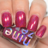 AVAILABLE AT GIRLY BITS COSMETICS www.girlybitscosmetics.com Candy Apple (Harvest Festival Fall 2015 Collection) by Nine Zero Lacquer | Photo courtesy of @jessface90x
