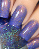 AVAILABLE AT GIRLY BITS COSMETICS www.girlybitscosmetics.com End of the Storm (Just Like A Dream Trio) by Femme Fatale in collaboration with Alena Belozerova of thepolishinglife.com & @lfcbabe | Swatch courtesy of @glitterfingersss