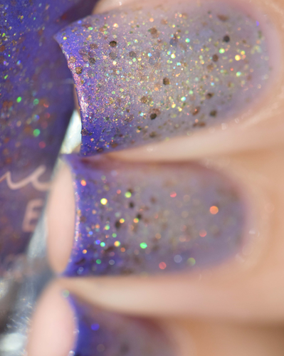 AVAILABLE AT GIRLY BITS COSMETICS www.girlybitscosmetics.com End of the Storm (Just Like A Dream Trio) by Femme Fatale in collaboration with Alena Belozerova of thepolishinglife.com & @lfcbabe | Swatch courtesy of @sheelbaba