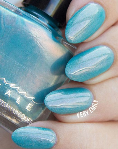 AVAILABLE AT GIRLY BITS COSMETICS www.girlybitscosmetics.com La Sirène (From the Nord-Pas-de-Calais Trio) by Femme Fatale in collaboration with Emily Van Cauter of emilydenisephotography.com & @veryemily   Swatch courtesy of @veryemily