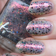 AVAILABLE AT GIRLY BITS COSMETICS www.girlybitscosmetics.com Cabin Fever - October COTM by Femme Fatale | Swatch courtesy of @emilydemolly