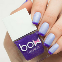 AVAILABLE AT GIRLY BITS COSMETICS www.girlybitscosmetics.com Thermo Top Coat Violet (Conversion Collection) by Bow Polish | All product images courtesy of Dance Legend.