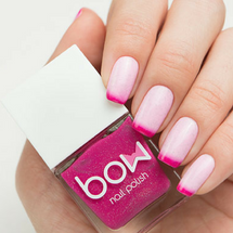 AVAILABLE AT GIRLY BITS COSMETICS www.girlybitscosmetics.com Thermo Top Coat Pink (Conversion Collection) by Bow Polish | All product images courtesy of Dance Legend.