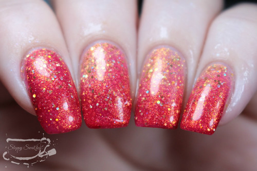 AVAILABLE AT GIRLY BITS COSMETICS www.girlybitscosmetics.com Clever Girl (Welcome to Mars Collection) by Femme Fatale | Swatch courtesy of Sloppy Swatches