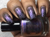 AVAILABLE AT GIRLY BITS COSMETICS www.girlybitscosmetics.com Magnetic Midnight (Holiday 2016) by Tonic Polish | Swatch courtesy of @queenofnails83
