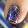 AVAILABLE AT GIRLY BITS COSMETICS www.girlybitscosmetics.com Magnetic Midnight (Holiday 2016) by Tonic Polish | Swatch courtesy of Pretty Lush Nails