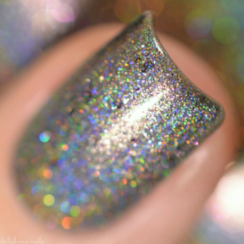 GIRLY BITS COSMETICS Steely Resolution (CoTM January 2017) | Swatch courtesy of Delishious Nails