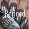 GIRLY BITS COSMETICS Steely Resolution (CoTM January 2017) | Swatch courtesy of Ehmkay Nails
