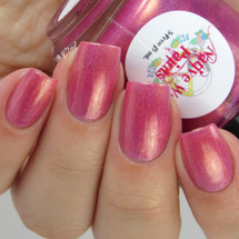 AVAILABLE AT GIRLY BITS COSMETICS www.girlybitscosmetics.com Gum Would Be Perfection (I'll Be There For You Collection) by Native War Paints | Swatch  provided by @gotnail