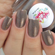AVAILABLE AT GIRLY BITS COSMETICS www.girlybitscosmetics.com Smelly Cat (I'll Be There For You Collection) by Native War Paints | Swatch  provided by @gotnail