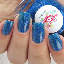 AVAILABLE AT GIRLY BITS COSMETICS www.girlybitscosmetics.com How You Doin'? (I'll Be There For You Collection) by Native War Paints | Swatch  provided by @gotnail
