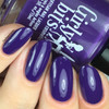 GIRLY BITS COSMETICS She's Got Grape Tips (CoTM February 2017)   Swatch courtesy of Nail Experiments