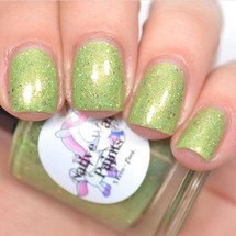 AVAILABLE AT GIRLY BITS COSMETICS www.girlybitscosmetics.com Zombie Unicorns Love Brains (Attack of the Killer Unicorns Collection) by Native War Paints | Swatch  provided by @jessface90x
