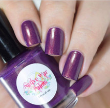 AVAILABLE AT GIRLY BITS COSMETICS www.girlybitscosmetics.com Sweaters in December (Most Requested Collection) by Native War Paints | Swatch provided by IG @jennpaddict1
