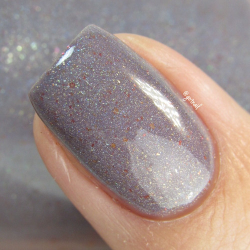 AVAILABLE AT GIRLY BITS COSMETICS www.girlybitscosmetics.com Constable (TWD Fandom - No Sanctuary Collection) by Native War Paints   Swatch provided by @gotnail