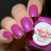 Girly Bits Exclusive by Native War Paints Pegasus Wings | Swatch courtesy of Delishious Nails