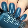 GIRLY BITS COSMETICS Denim and Diamonds from the Warrior Goddess Collection   Swatch courtesy of Nail Experiments