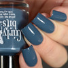 GIRLY BITS COSMETICS Denim and Diamonds from the Warrior Goddess Collection   Swatch courtesy of Delishious Nails