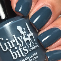 GIRLY BITS COSMETICS Denim & Diamonds from the Warrior Goddess Collection   Swatch courtesy of @luvlee226