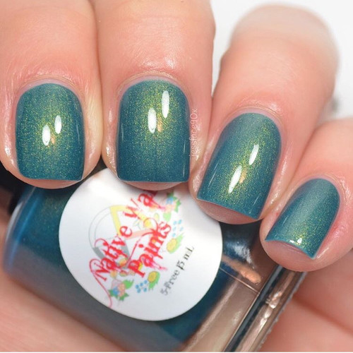 AVAILABLE AT GIRLY BITS COSMETICS www.girlybitscosmetics.com My Favorite Sweater (Sweaters Collection) by Native War Paints | Swatch  provided by @jessface90x