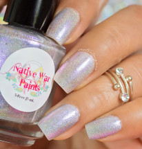 AVAILABLE AT GIRLY BITS COSMETICS www.girlybitscosmetics.com You Have No Power Over Me (Labyrinth Collection) by Native War Paints | Swatch  provided by @sisterlacquer
