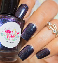 AVAILABLE AT GIRLY BITS COSMETICS www.girlybitscosmetics.com Goblin King (Labyrinth Collection) by Native War Paints | Swatch  provided by @sisterlacquer
