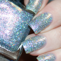 AVAILABLE AT GIRLY BITS COSMETICS www.girlybitscosmetics.com Among Daughters of Air (Little Mermaid Collection) by Femme Fatale | Swatch courtesy of @chrissys_lackwahnsinn