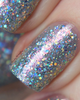 AVAILABLE AT GIRLY BITS COSMETICS www.girlybitscosmetics.com Among Daughters of Air (Little Mermaid Collection) by Femme Fatale   Swatch courtesy of @emilydemolly