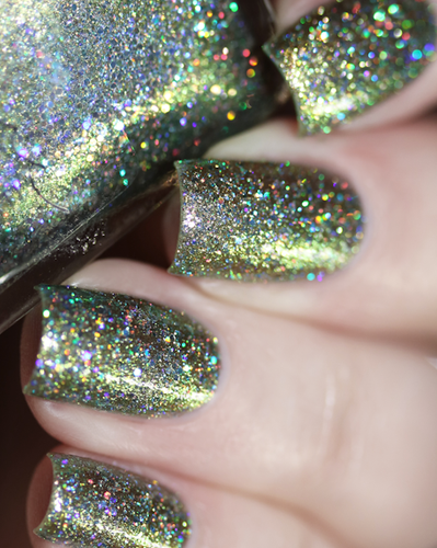 COMING SOON TO GIRLY BITS COSMETICS www.girlybitscosmetics.com Built With Shipwrecked Bones (Little Mermaid Collection) by Femme Fatale   Swatch courtesy of  @chrissys_lackwahnsinn