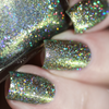 AVAILABLE AT GIRLY BITS COSMETICS www.girlybitscosmetics.com Built With Shipwrecked Bones (Little Mermaid Collection) by Femme Fatale   Swatch courtesy of  @chrissys_lackwahnsinn