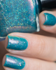 AVAILABLE AT GIRLY BITS COSMETICS www.girlybitscosmetics.com Dominion of the Sea Witch (Little Mermaid Collection) by Femme Fatale | Swatch courtesy of @ilaeti