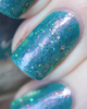 AVAILABLE AT GIRLY BITS COSMETICS www.girlybitscosmetics.com Dominion of the Sea Witch (Little Mermaid Collection) by Femme Fatale | Swatch courtesy of @emilydemolly