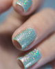 AVAILABLE AT GIRLY BITS COSMETICS www.girlybitscosmetics.com Glittering Draught (Little Mermaid Collection) by Femme Fatale | Swatch courtesy of @ilaeti