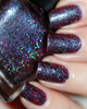 AVAILABLE AT GIRLY BITS COSMETICS www.girlybitscosmetics.com Stars of Heaven FAlling (Little Mermaid Collection) by Femme Fatale | Swatch courtesy of  Des Trucs de Filles